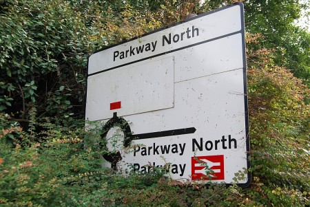 Parkway North Roundabout, Stoke Gifford, Bristol.