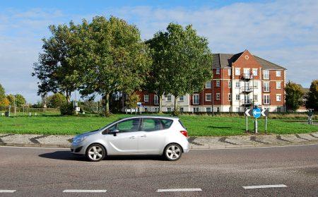 Savages Wood Roundabout, Bradley Stoke, Bristol.