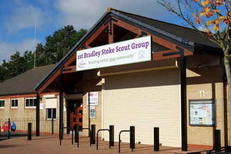 Signage at Brook Way Activity Centre, Bradley Stoke, Bristol.