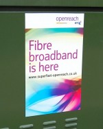BT Openreach: Fibre broadband is here.