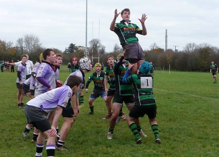 BJC under-16s cup game between St Mary's Old Boys RFC and Clifton.