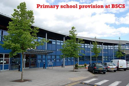 Primary school provision at Bradley Stoke Community School.