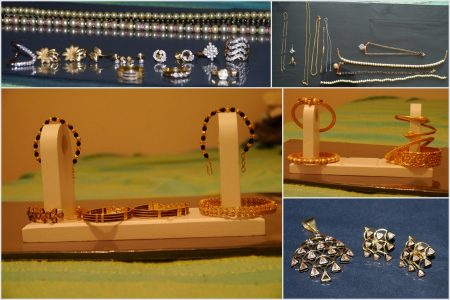 Jewellery stolen from a property in Bradley Stoke in December 2013.
