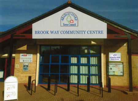 Proposed new signage at Brook Way Activity Centre, Bradley Stoke.
