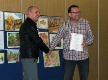 Jamie Lockett - Winner of the Stokes Art Group Autumn Competition.