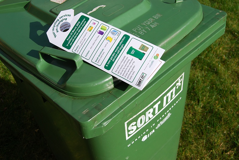 South Glos Council chargeable green waste collection service.