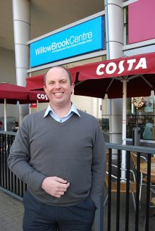 Andy Wynn, manager of the Willow Brook Centre in Bradley Stoke, Bristol.