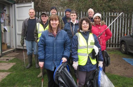 Bradley Stoke Green Gym's Big Spring Clean.