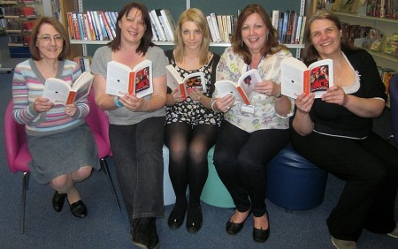 World Book Night 'givers' at Bradley Stoke Library.