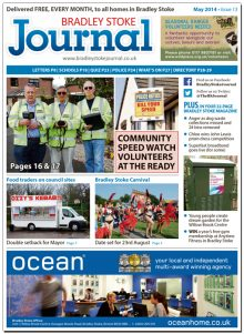 May 2014 edition of the Bradley Stoke Journal magazine.