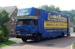 Removal van in Bradley Stoke, Bristol.
