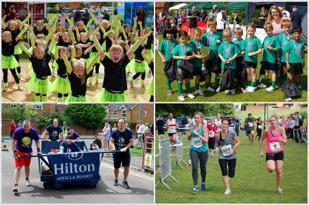 photos from the 2014 Bradley Stoke Community Festival.