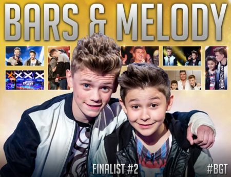 Britain's Got Talent (Series 8, 2014) finalists Bars & Melody.