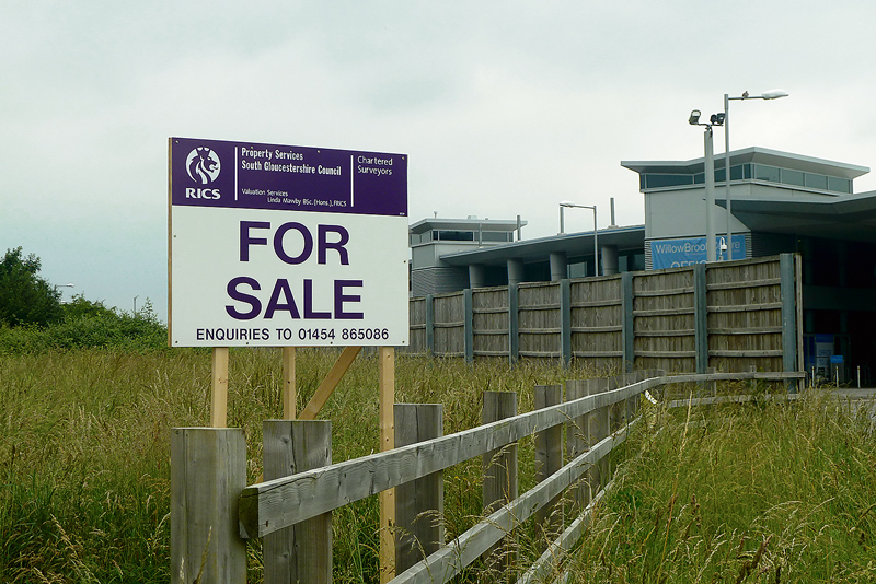 Vacant land at Savages Wood Road, Bradley Stoke.