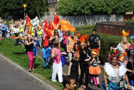 Bradley Stoke Carnival 2013.