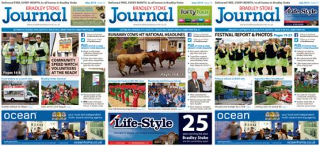 Bradley Stoke Journal magazine.