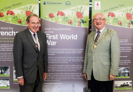 Launch of the 'South Gloucestershire and the First World War' exhibition.
