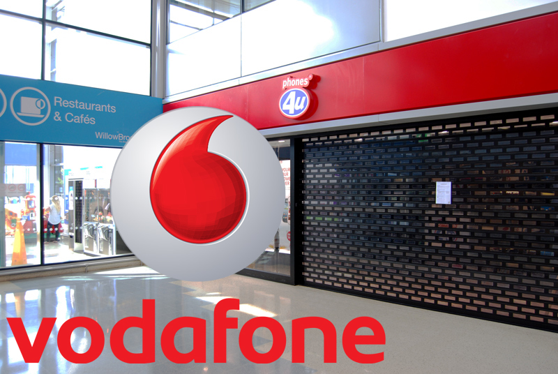 The former Phones 4u store at the Willow Brook Centre, Bradley Stoke is to re-open as a Vodafone outlet.