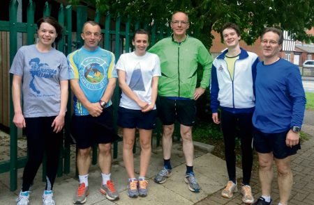 North Bristol Running Group, an informal group of runners based in Bradley Stoke, Bristol.