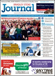 December 2014 edition of the Bradley Stoke Journal magazine.