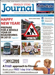 January 2015 edition of the Bradley Stoke Journal magazine.