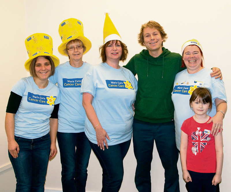Launch of the Five Stokes Marie Curie fundraising group.