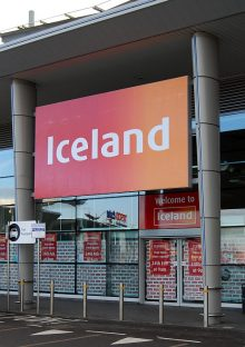 The new Iceland store at the Willow Brook Centre, Bradley Stoke (expected to open on 24th February 2015).