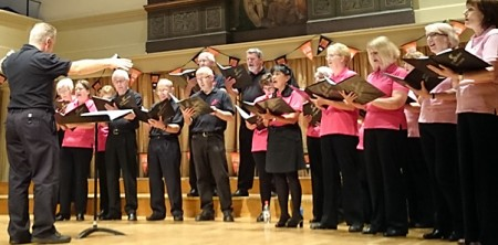 Stoke Singers perform at St George's, Bristol.