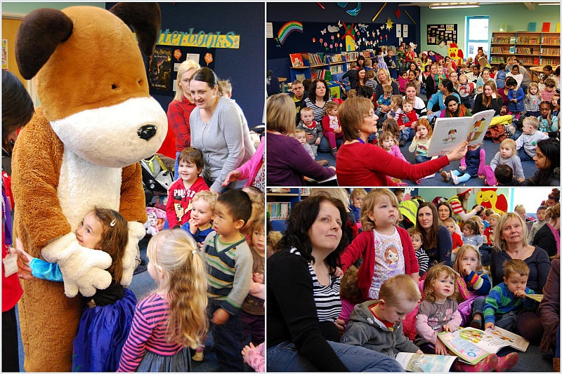 World Book Day is celebrated at Bradley Stoke Library.