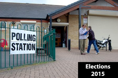 Elections in Bradley Stoke on Thursday 7th May 2015.