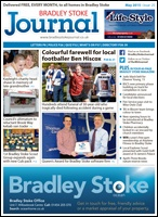 May 2015 edition of the Bradley Stoke Journal magazine.