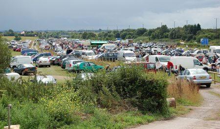 Trench Lane Car Boot Sale, near Bradley Stoke, Bristol.