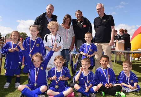 McDonald's / Bradley Stoke Youth FC Festival of Football - Meadowbrook Primary School. [Photo credit: McDonald's]