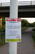 Police notice appealing for help following a sexual assault in Bradley Stoke, Bristol.