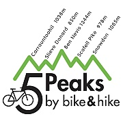 Five Peaks by Bike and Hike.