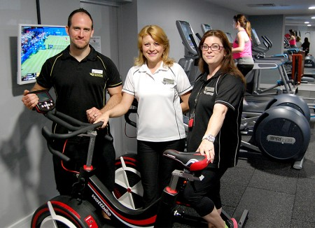 Staff at the LivingWell Health Club, Bradley Stoke, Bristol.