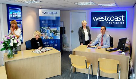 The Patchway branch of Westcoast Properties.
