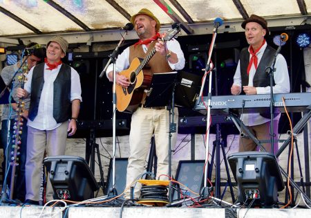 The Twerzels performing at the 2014 Bradley Stoke Carnival.