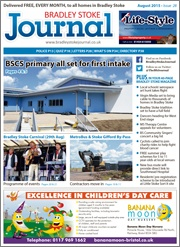 August 2015 edition of the Bradley Stoke Journal magazine.