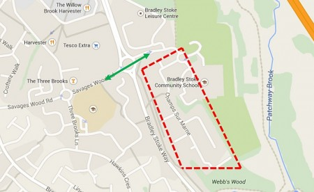 Traffic management for the Active Triathlon in Bradley Stoke on Sunday 30th August 2015.