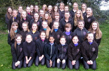 Members of the Sharon Phillips School of Dancing who will be performing on the West End stage.