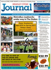 September 2015 edition of the Bradley Stoke Journal magazine.