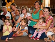 Toddler group at Christ the King, Bradley Stoke, Bristol.