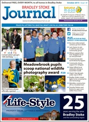 October 2015 edition of the Bradley Stoke Journal magazine.