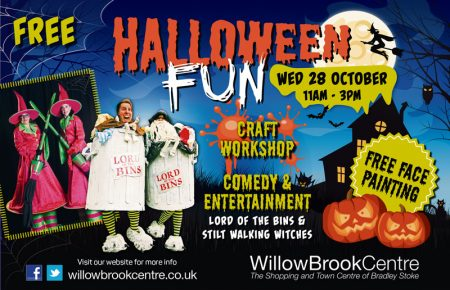 Halloween Fun at the Willow Brook Centre, Bradley Stoke.