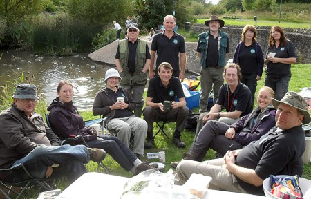 The Three Brooks Nature Conservation Group's tenth birthday picnic.