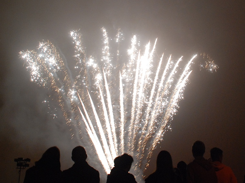 Bradley Stoke Fireworks Display 2015.