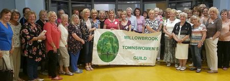 Members of the Willow Brook Townswomen's Guild, based in Bradley Stoke, Bristol.