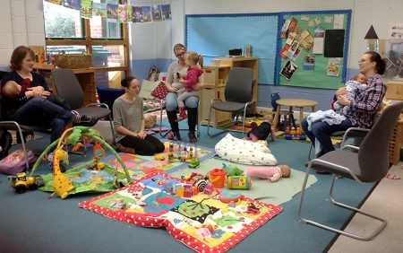 A meeting of Bradley Stoke Breastfeeding Group.