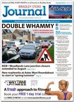 January 2016 edition of the Bradley Stoke Journal news magazine.